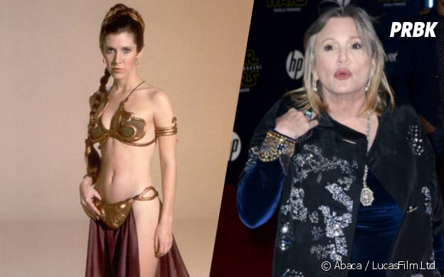 Carrie Fisher (Princesse Leia) : l'actrice de Star Wars a bien changé