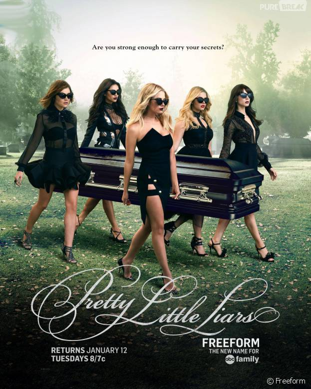 Pretty Little Liars saison 6 : le poster sexy