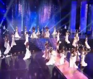 Miss France 2016 : Miss Roussillon chute en direct