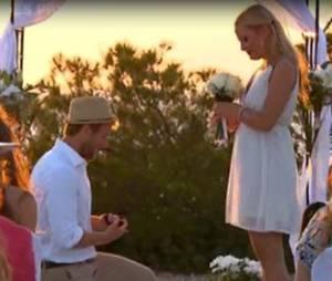 Les fiançailles d'Oxanna et Gilles dans Les Princes de l'amour 3