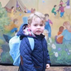 Prince George craquant pour sa rentrée à la crèche... et bientôt de nouveau grand frère ?