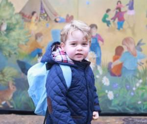 Le Prince George fait sa rentrée à la crèche le 6 janvier 2015