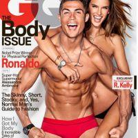 Cristiano Ronaldo en slip au côté d'Alessandra Ambrosio topless : la Une sexy de GQ