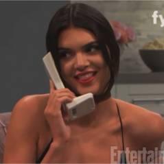 Kendall Jenner enceinte : la réaction improbable de Kim Kardashian après sa blague