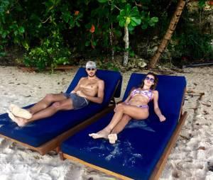 Vanessa Lawrens et Julien Guirado : vacances de rêve en République Dominicaine