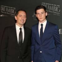 Gad Elmaleh et son fils Noé, stars du gala du lycée français de New-York