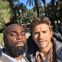 Kaaris : un selfie avec Scott Eastwood sur le tournage d'un blockbuster à Hollywood
