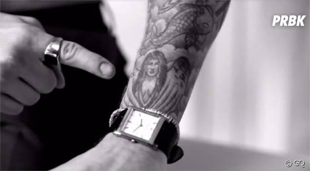 Justin Bieber dévoile ses tatouages pour GQ
