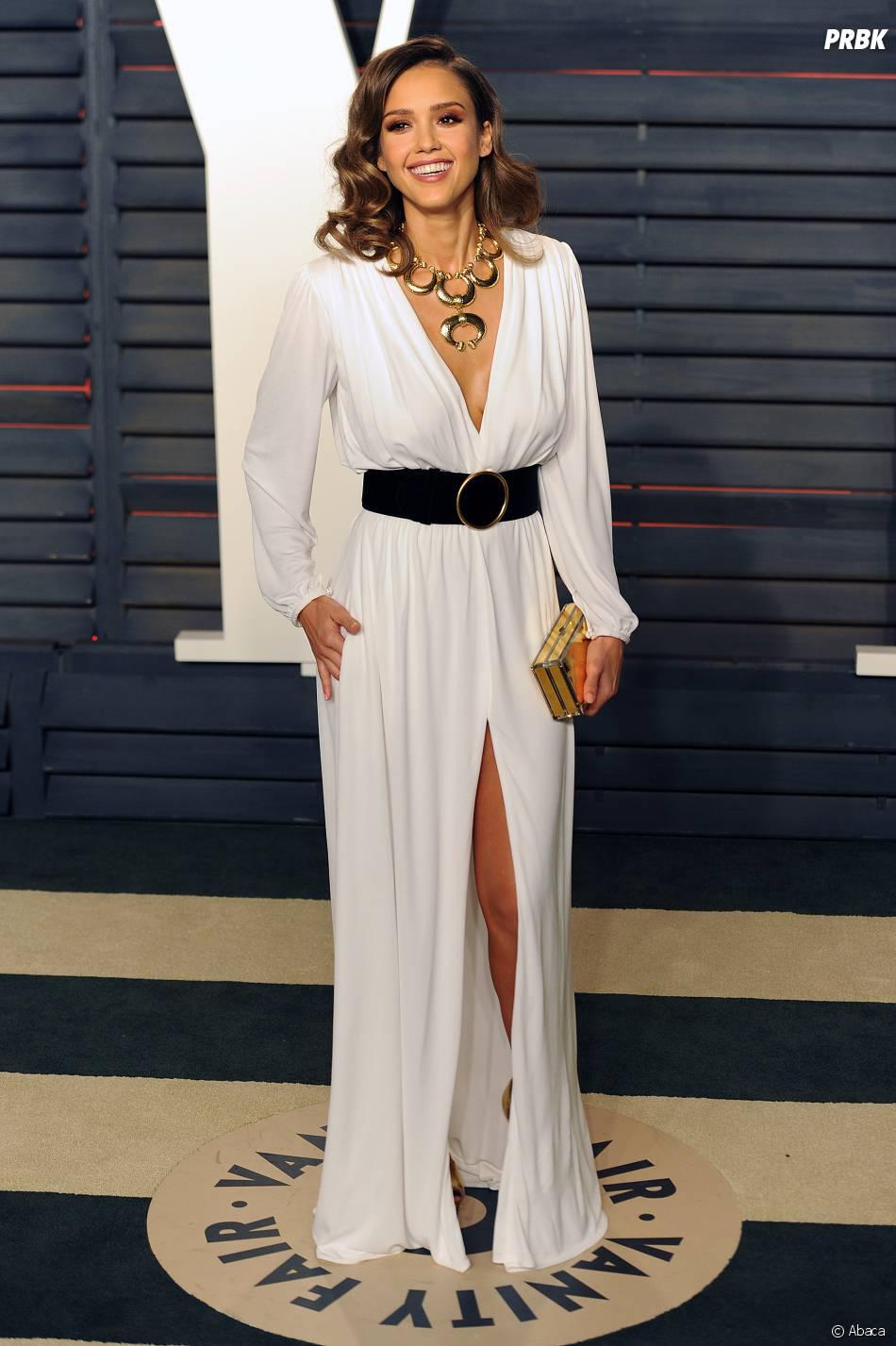 Jessica Alba à la soirée organisée par Vanity Fair après les Oscars le 28 février 2016