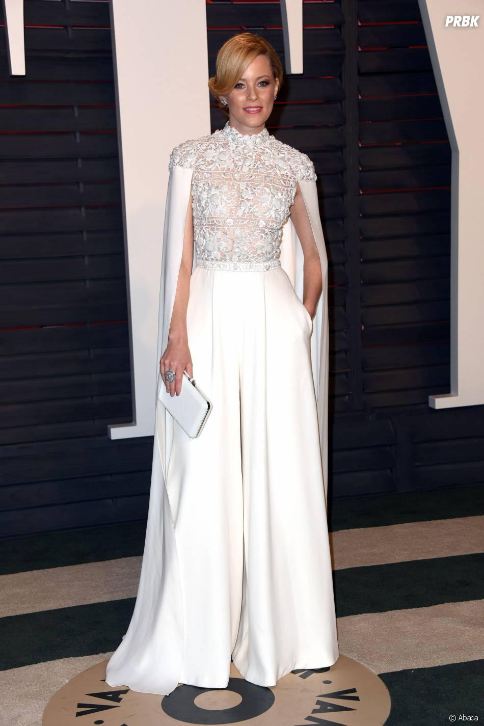 Elizabeth Banks à la soirée organisée par Vanity Fair après les Oscars le 28 février 2016