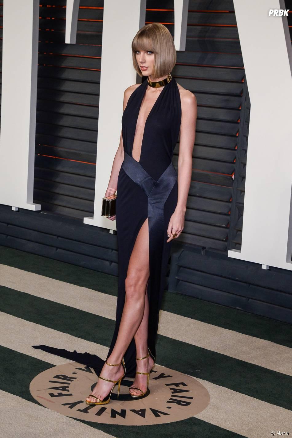 Taylor Swift à la soirée organisée par Vanity Fair après les Oscars le 28 février 2016
