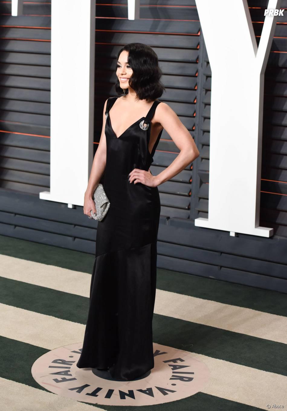 Vanessa Hudgens à la soirée organisée par Vanity Fair après les Oscars le 28 février 2016