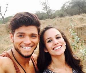 Rayane Bensetti et Lucie Lucas en tournage en Inde pour TF1