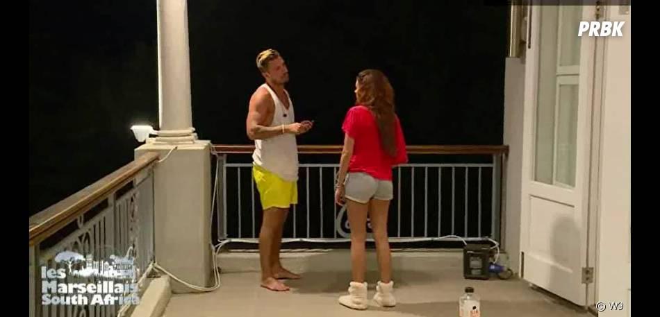 Les Marseillais South Africa : Rawell se confie sur sa dispute avec Carla à Kevin lors de l'épisode 16 du 14 mars 20116, sur W9