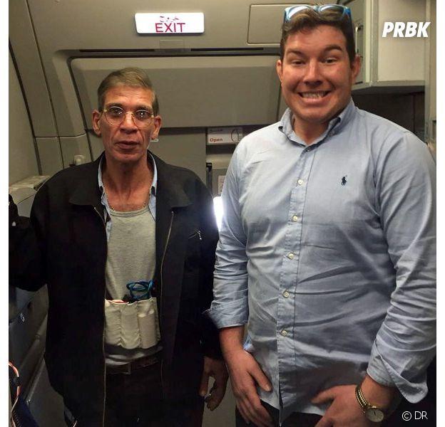 Hallucinant : la photo complètement délirante du pirate d'EgyptAir avec... un otage