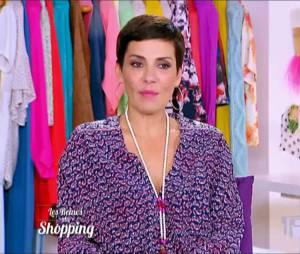 Cristina Cordula qualifie une candidate des Reines du shopping de ronde, le public choqué