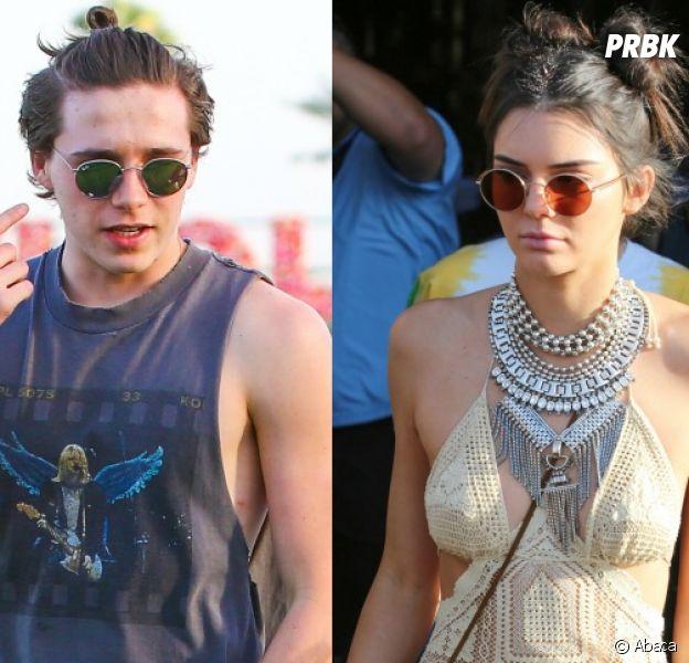 Brooklyn Beckham et Kendall Jenner au festival Coachella 2016