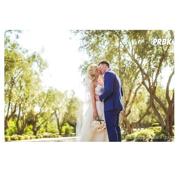 Claire Holt (The Vampire Diaries) : la photo de son mariage avec Matt Kaplan