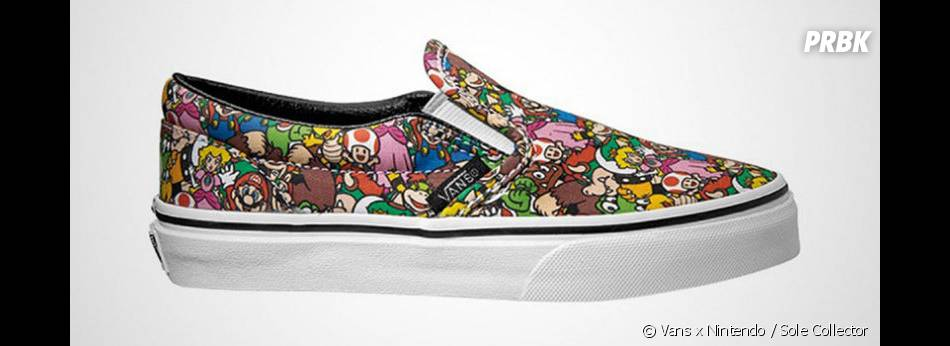 Vans dévoile sa collection de baskets Nintendo