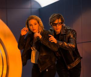 X-Men Apocalypse : Jennifer Lawrence et Evan Peters sur une photo