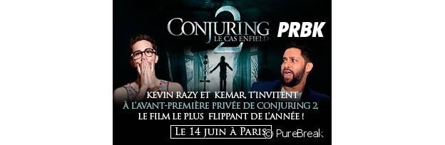 Concours Conjuring 2 : des places à gagner pour l'avant-première
