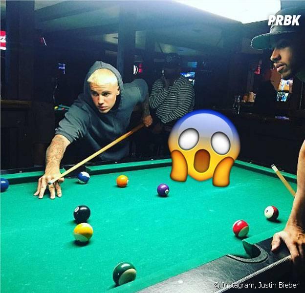 Justin Bieber dévoile sa nouvelle couleur sur Instagram le 3 juin 2016