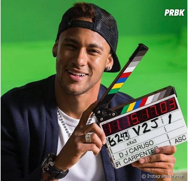 Neymar dans XXX3 avec Vin Diesel.