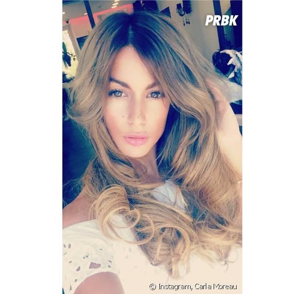 Carla Moreau (Les Marseillais South Africa) dévoile sa nouvelle couleur sur Instagram