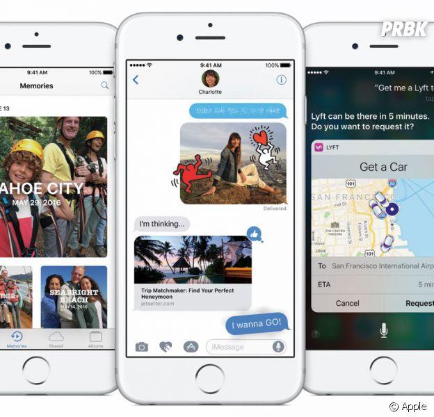 Apple a dévoilé iOS 10 le lundi 13 juin 2016