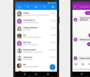 Les SMS et MMS reviennent sur Facebook Messenger