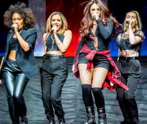 Le girls band Little Mix en concert.