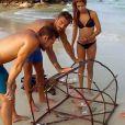 Rémi, Julien, Greg et Anissa ont réussi à pêcher des poissons dans Moundir et les apprentis aventuriers.