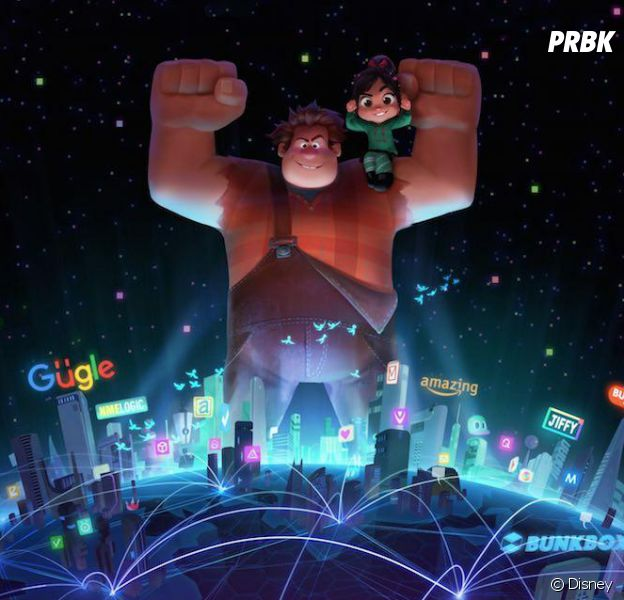 Les Mondes de Ralph 2 : Internet au coeur des parodies