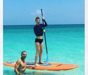 Jesse Williams (Grey's Anatomy) et Ellen Pompeo en vacances en juillet 2016