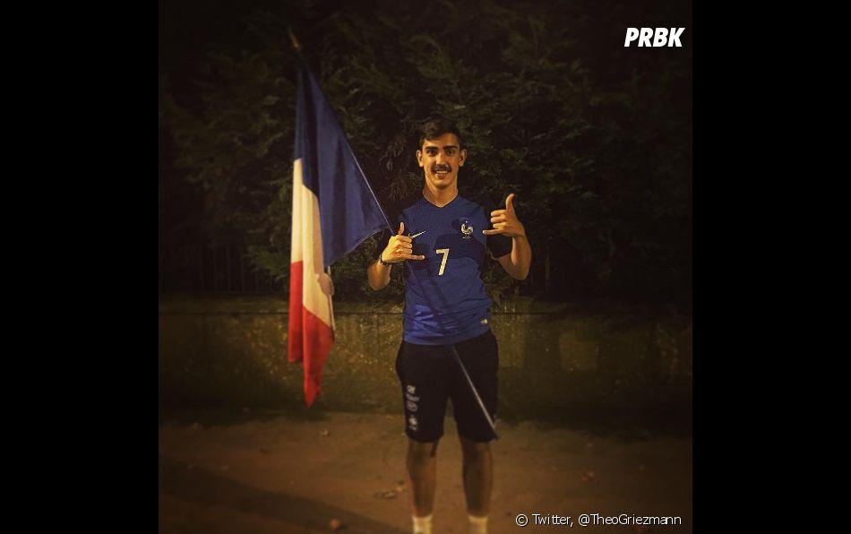 Théo Griezmann est un immense fan de foot