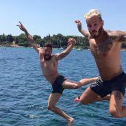 Olivier Giroud et M. Pokora : leurs vacances complices à la mer 🏝