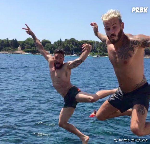 M. Pokora et Olivier Giroud s'éclatent ensemble en vacances