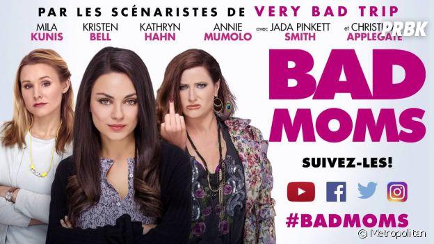 Bad Moms : l'affiche