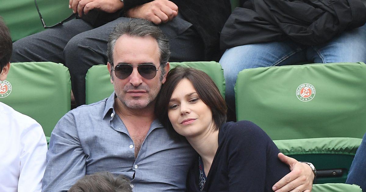 Jean dujardin et nathalie p chalat vivent le grand amour for Pechalat dujardin