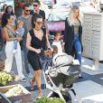 Kim Kardashian et Saint West sont venus en famille pour Mary Jo.