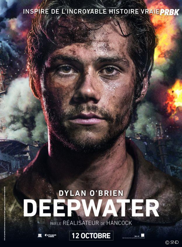 L'affiche de Dylan O'Brien pour Deepwater