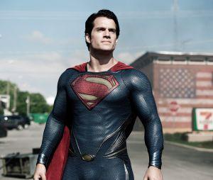 Henry Cavill en Superman dans Man of Steel