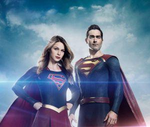 Tyler Hoechlin en costume de Superman sur la première image de la saison 2 de Supergirl avec Melissa Benoist