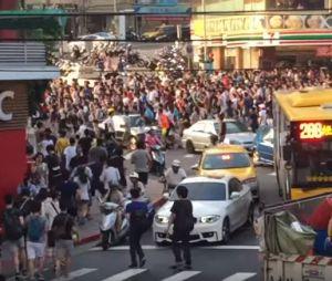 Pokémon GO : hystérie pour un Ronflex à Taïwan