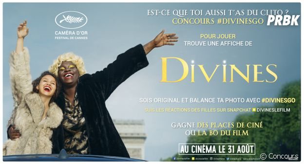 Concours Snapchat Divines #DivinesGo