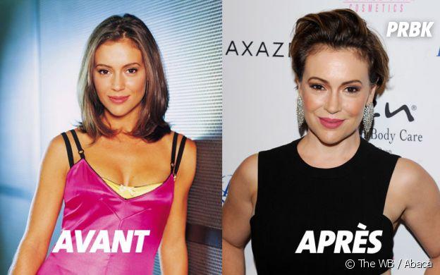 Charmed : Alyssa Milano au début de la série et aujourd'hui