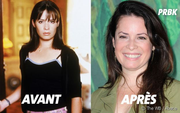 Charmed : Holly Marie Combs au début de la série et aujourd'hui