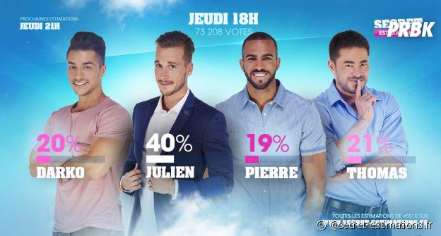 Pierre (Secret Story 10) éliminé face à Darko, Julien et Thomas ?