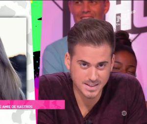 Andréas Kastrinos demande Andréane Chamberland en mariage en direct dans Le Mad Mag...enfin presque
