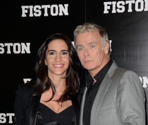 Franck Dubosc et sa femme Danièle à l'avant-première de Fiston à Paris